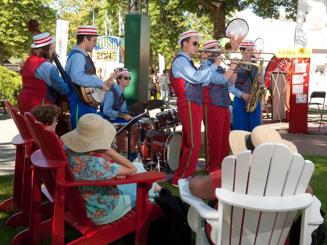 Performing at The Fair - PNE