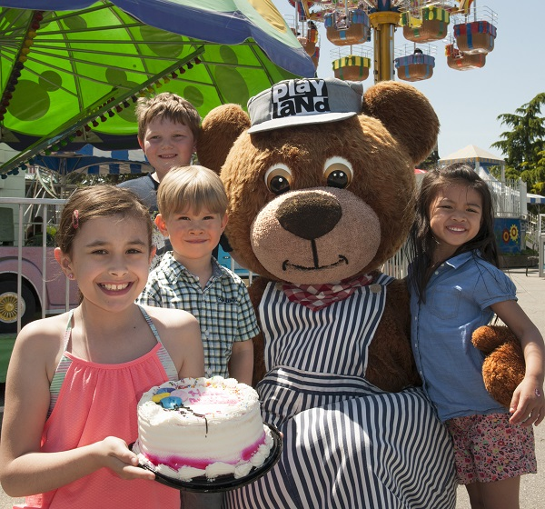 Book your Birthday Party at Playland at the PNE, Vancouver, BC
