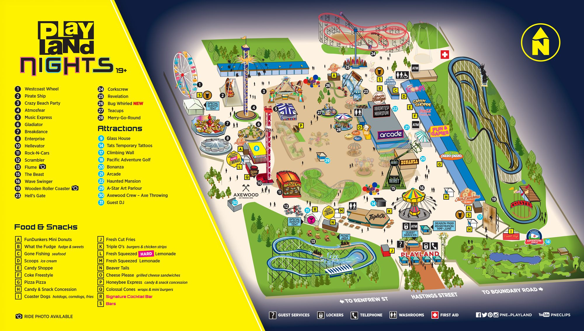 Playland Nights map