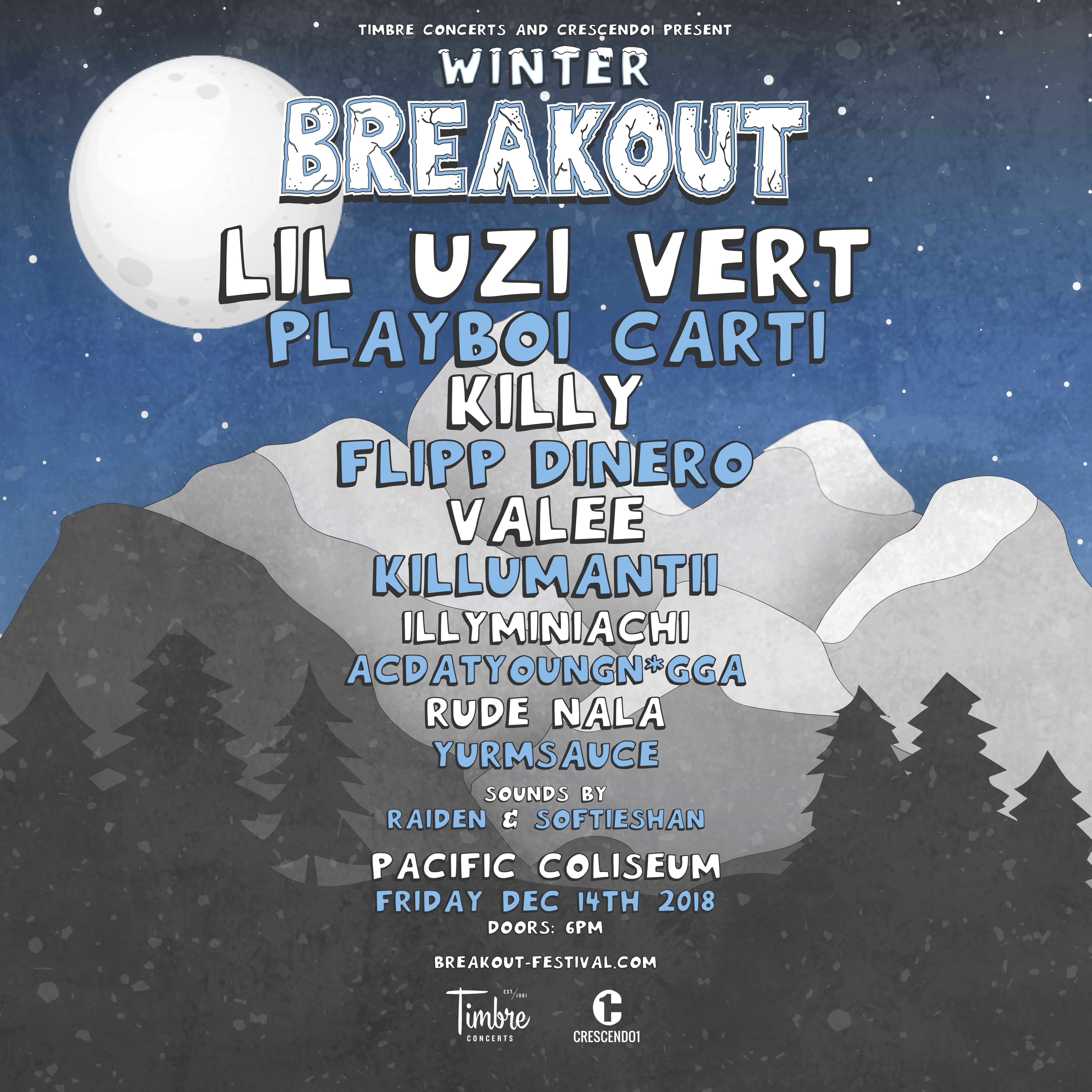 Winter breakout collection
