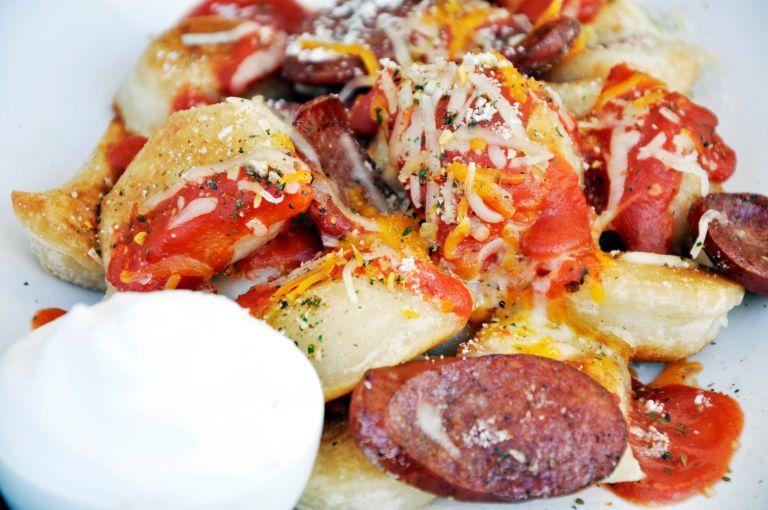 Italian Pizza Perogies Pne