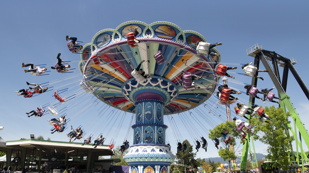 Sea-to-Sky Swinger at Playland PNE Vancouver